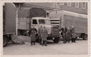 Umzüge Wiesinger 1955