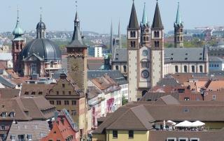 Würzburg Skyline Dr. Jung